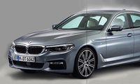 BMW 5-serien G30 – första officiella bilderna på nya bilen