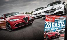 Test: Alfa Romeo Giulia Q, BMW M3 och Mercedes-AMG C 63 S