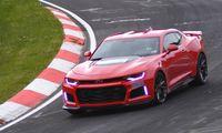 Chevrolet Camaro ZL1 klockad för 7:29,6 på Nürburgring