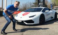 Ternström: Premiärturen i Lamborghini Huracan höll på att sluta i katastrof