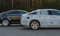Nya Opel Insignia Grand Sport blir en stor kombikupé