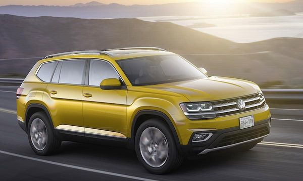 Äntligen VW – nya suven Atlas är sjusitsig
