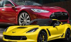 Demokraterna drömmer om Tesla – republikaner vill köra Corvette