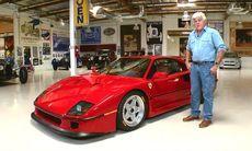 Jay Leno möter Ferrari F40 – och blir blixtförälskad