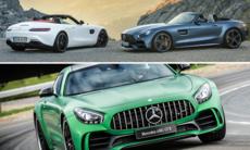 Tre nya Mercedes-AMG GT-modeller – här är svenska priser