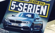 Alrik: Första provkörningen av nya BMW 5-serien