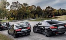 Test: Alfa Romeo Giulia, Audi A4, BMW 4-serie Gran Coupé och Jaguar XE