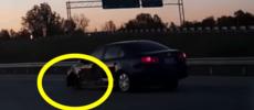 120 km/h på motorvägen – utan framhjul