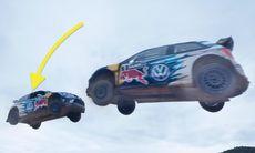 Volkswagen säger farväl till WRC med spektakulär stuntvideo