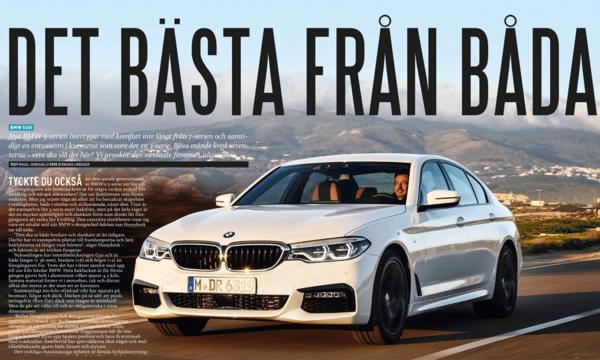 NYTT: Första provkörningen av BMW 5-serien