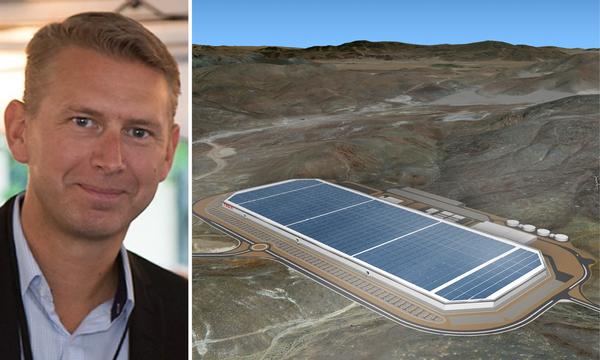 Svensken som vill bygga jättefabrik för batterier