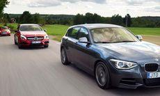 Film: 3 roliga GTI-bilar – häng med på test!