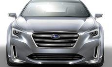 Subaru Legacy Concept visar lovande framtid