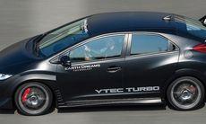 Honda Civic Type R Turbo – 300 hk och snabbast på Ringen
