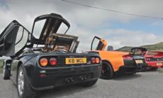 Film: McLaren F1 mot 6 superbilar
