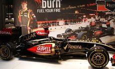 Kolla in Lotus F1-bil i Stockholm