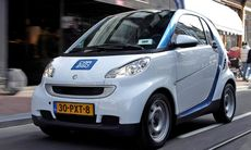 Smart öppnar bilpool i Stockholm
