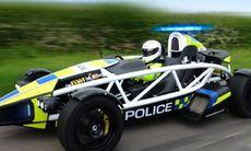 Polisen i England kör Ariel Atom