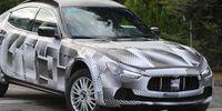 Spion: Maserati Levante – första testerna av nya suven