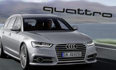 Audis miss med nya A6: Ingen fyrhjulsdrift för tjänstebilisten
