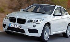 BMW X1 närmar sig – och den kommer som fyradörrars coupé