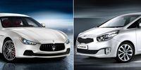 Maserati och Kia i samarbete