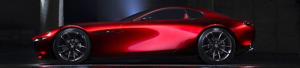 Mazda RX-Vision Concept – wankelmotorn är tillbaka!