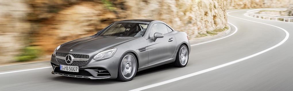 Mercedes SLK byter namn till SLC – och får ett lyft och mer prestanda